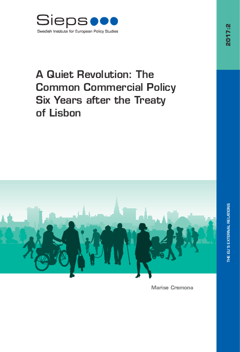 A Quiet Revolution: The Common Commercial Policy Six Years ...
