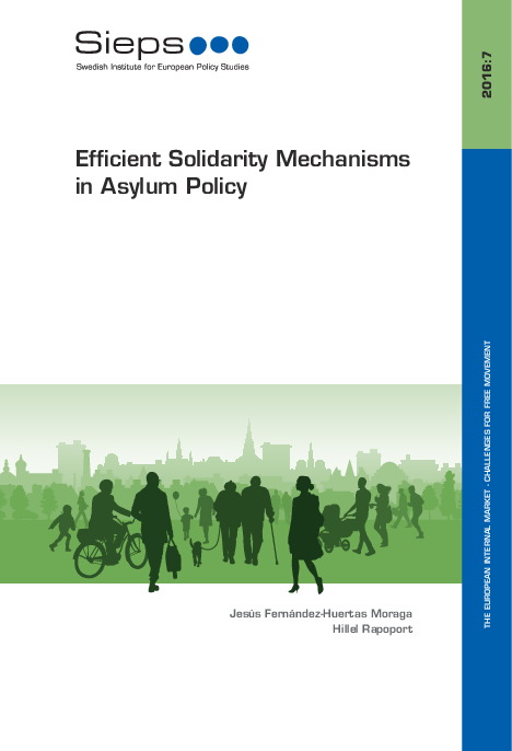 Efficient Solidarity Mechanisms in Asylum Policy