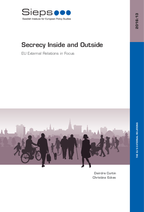 Inside and Outside: EU External Relations in Focus (2016:13)
