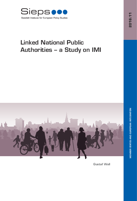 Linked National Public Authorities – a Study on IMI